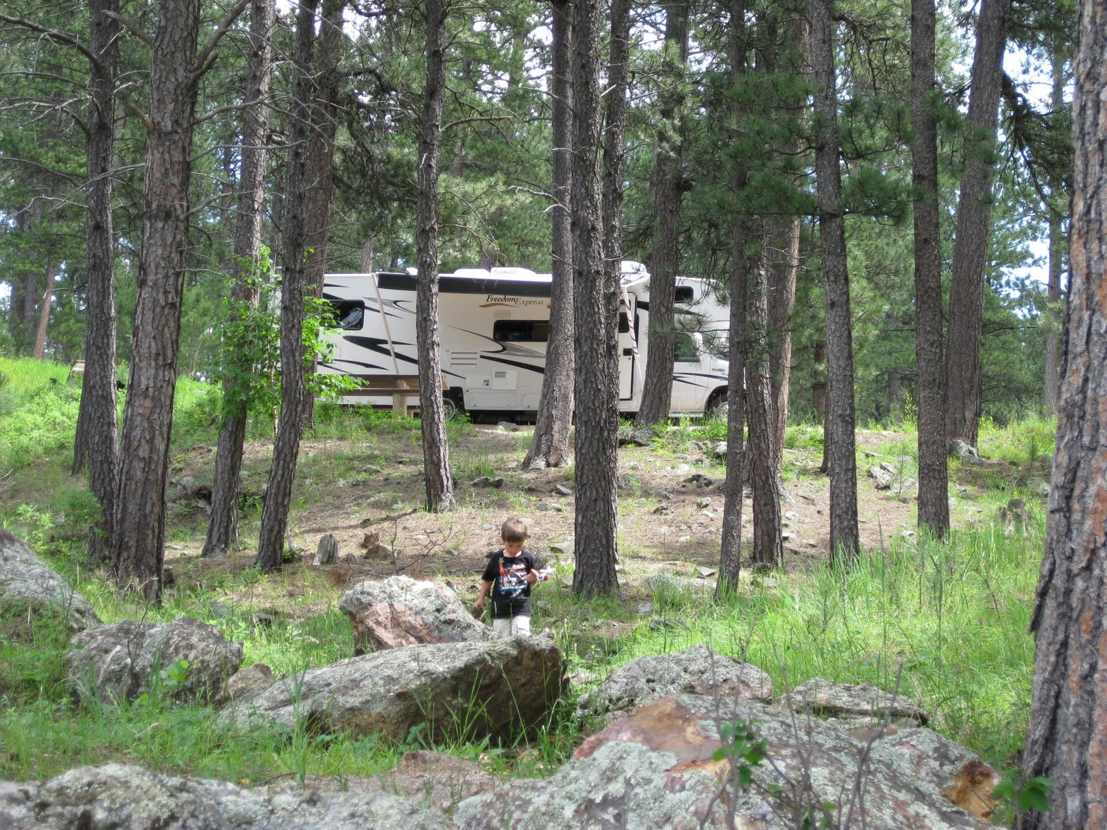 Campgroundcrazy Bismarck Lake Campground Custer South