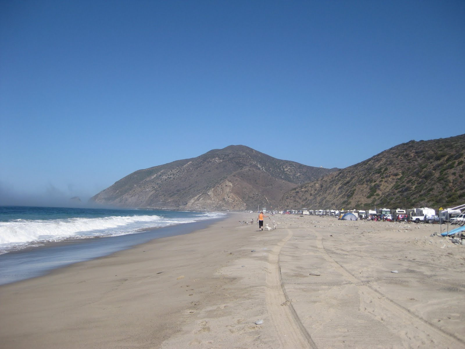 Point Mugu State Park Is Separated Into Two Diffe Campgrounds The Beachfront Thornhill Broome And Inland Sycamore Canyon