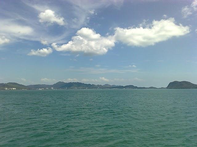 View from bukit Maloi Langkawi