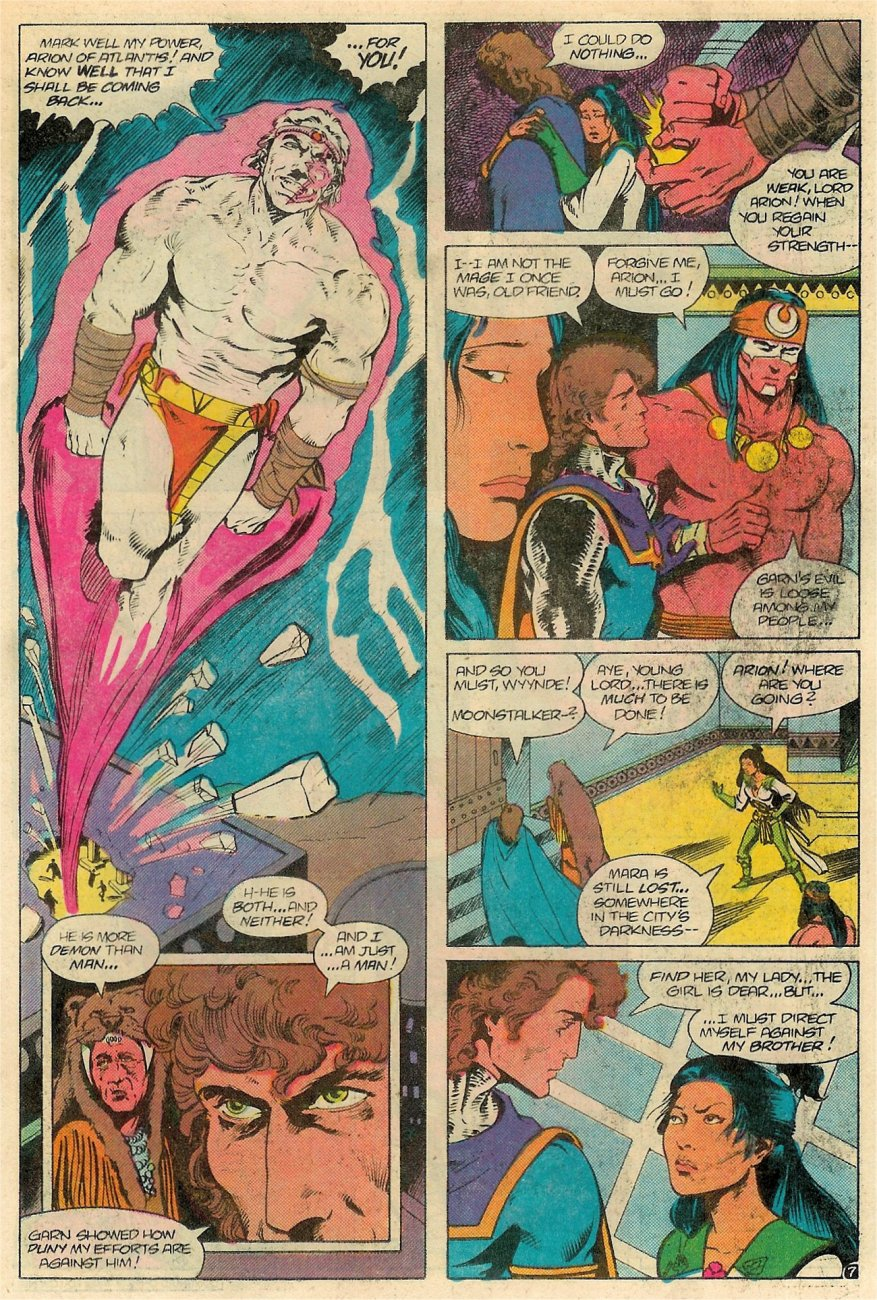 Read online Arion, Lord of Atlantis comic -  Issue #18 - 8