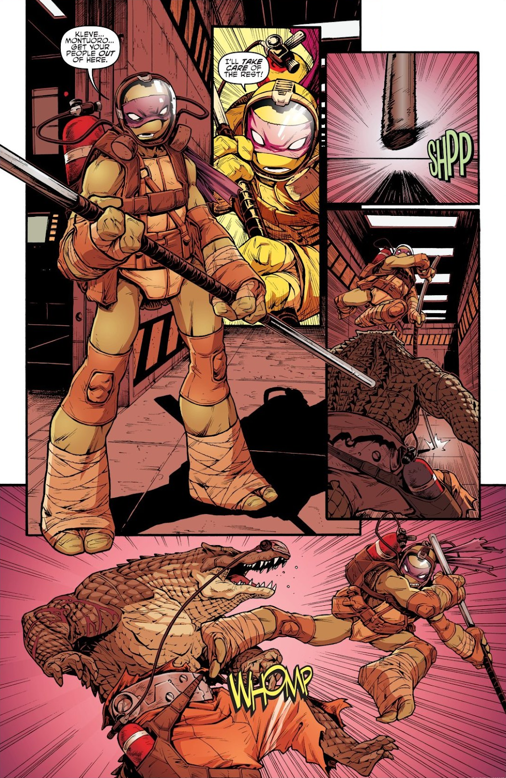 Read online Teenage Mutant Ninja Turtles: The IDW Collection comic -  Issue # TPB 7 (Part 2) - 74