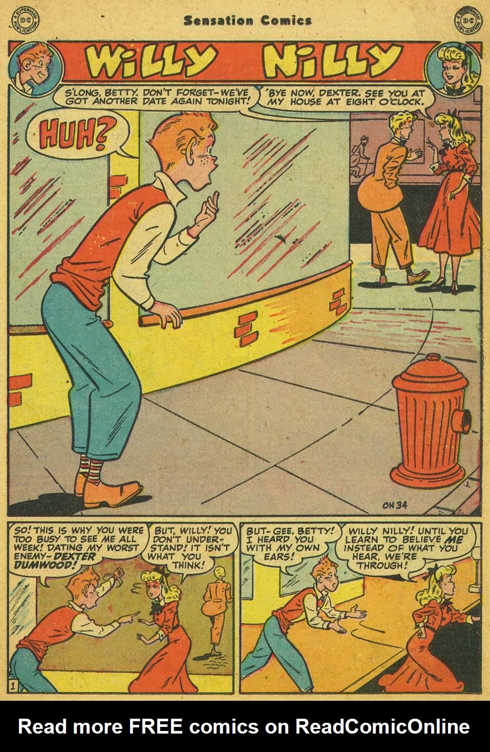 Read online Sensation (Mystery) Comics comic -  Issue #80 - 32