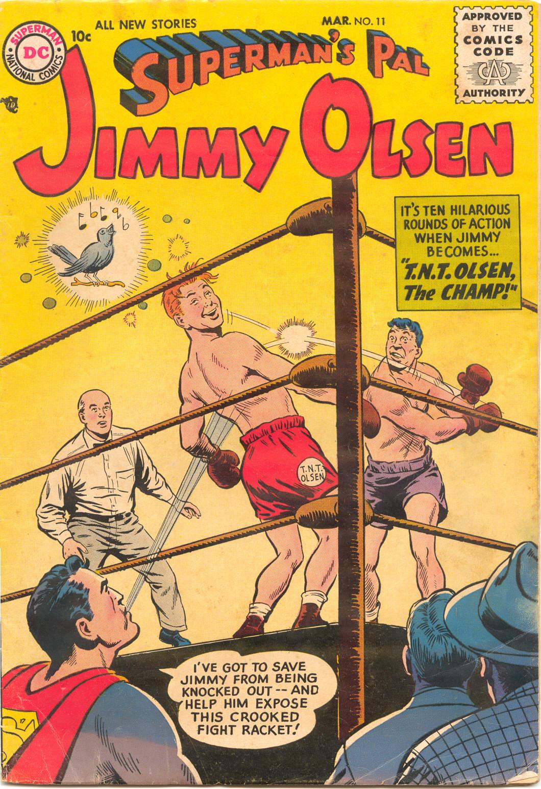 Supermans Pal Jimmy Olsen (1954) 11 Page 1