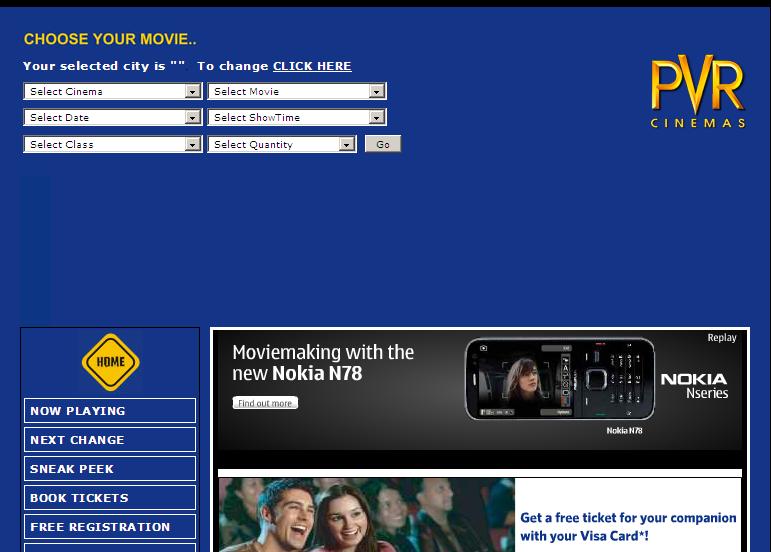Pvr Cinema Online Booking 69