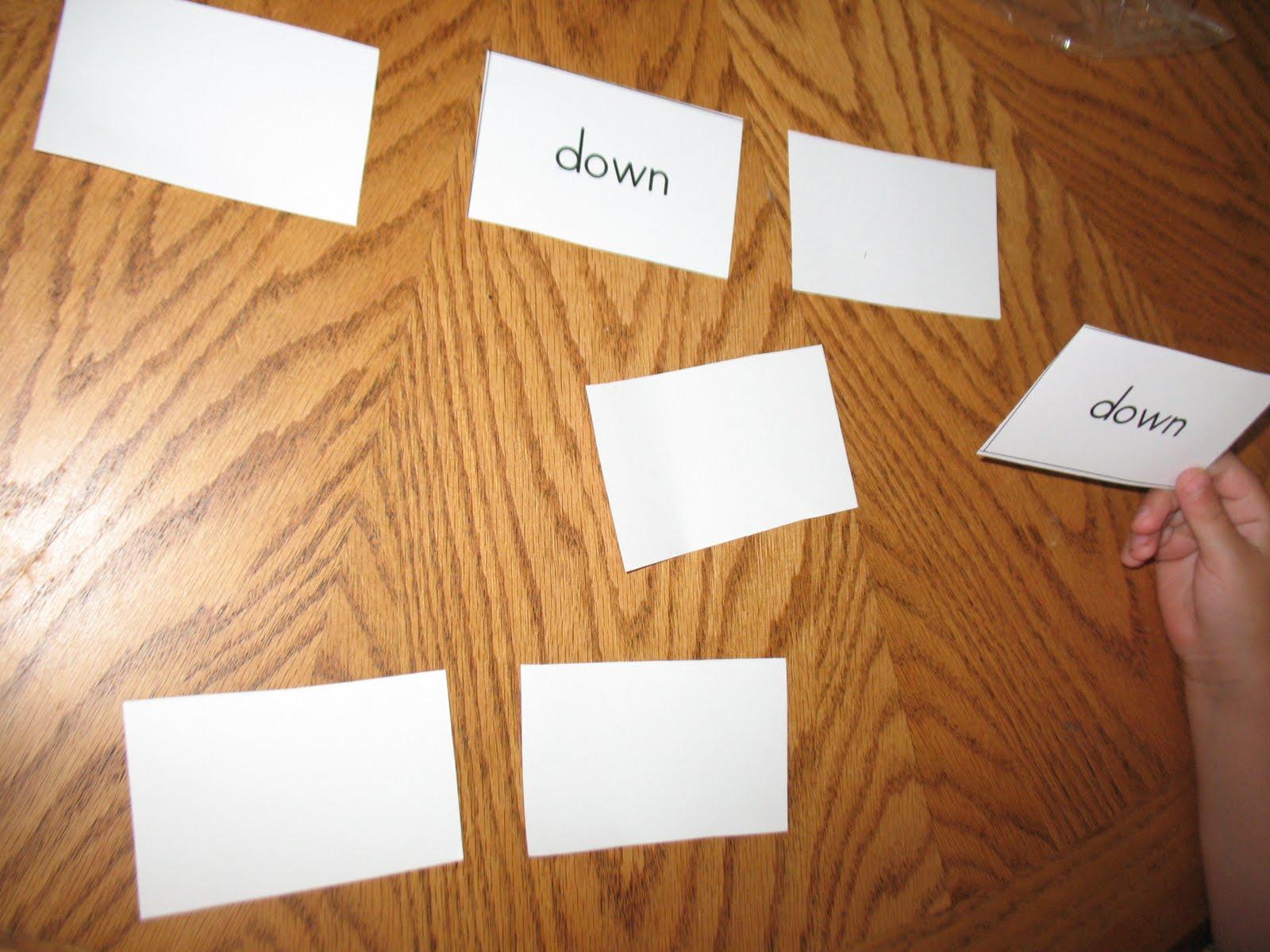 Montessori For Learning Sight Word Fun