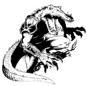 Havards Blackmoor Blog: [Races] Gatormen