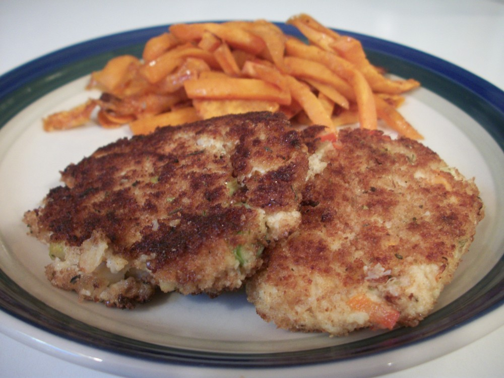 Canned Crab Potato Cakes
