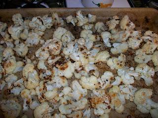 Cook With Sara Roasted Cauliflower