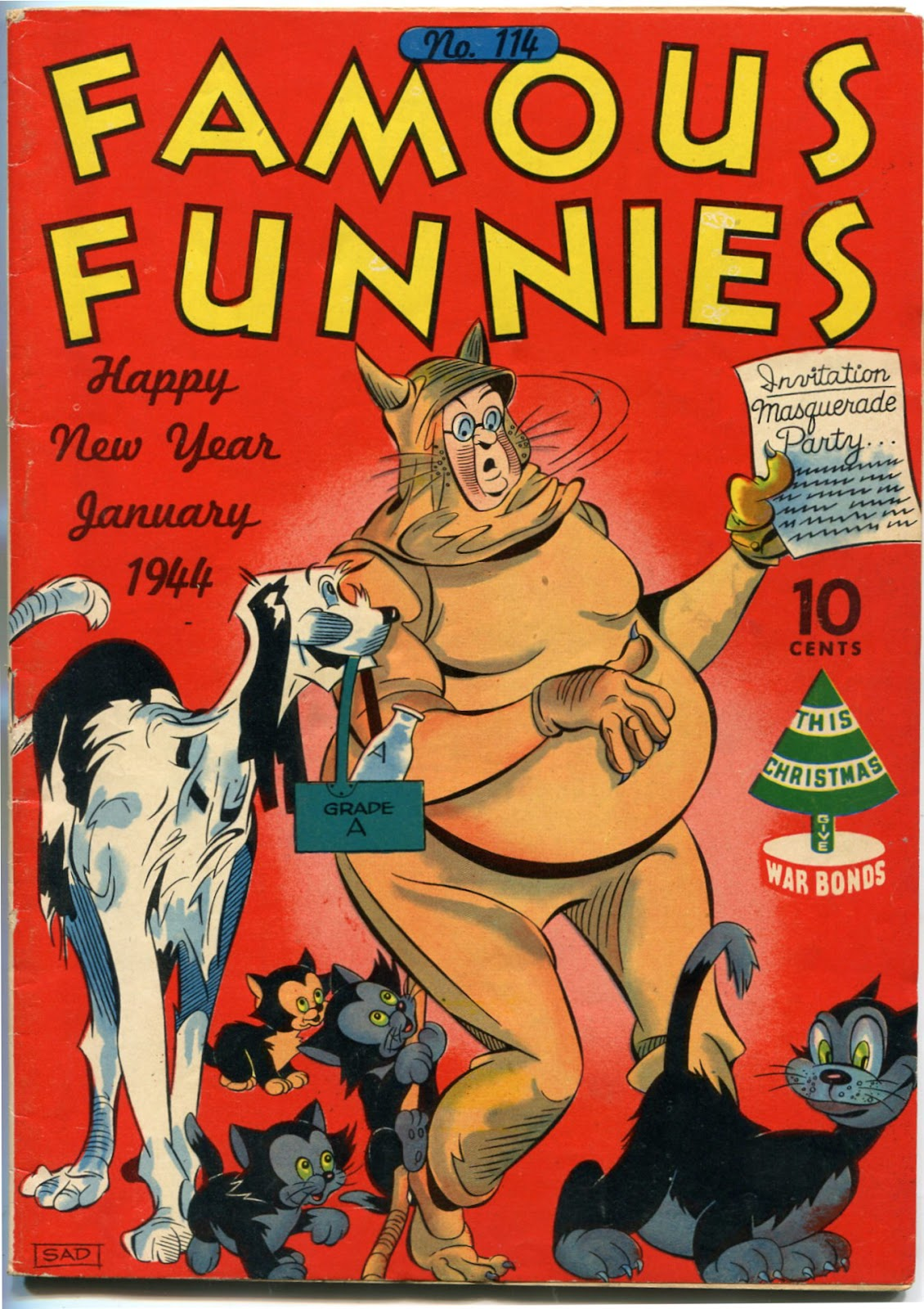 Read online Famous Funnies comic -  Issue #114 - 1