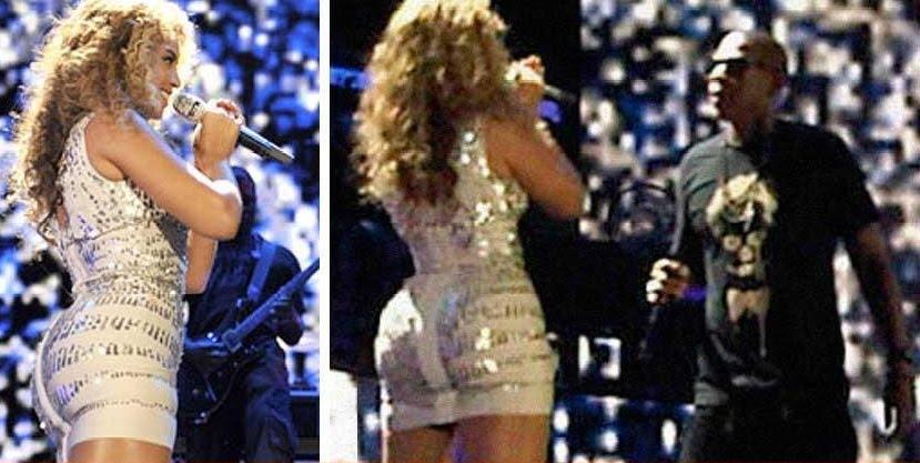 Beyonce Wears Butt Pads 25