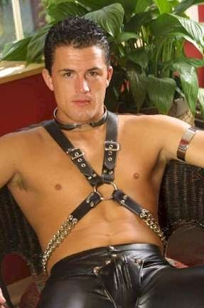 gay muscle leather