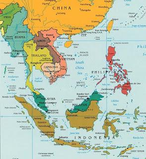 kart sørøst asia Lars Emil: Reise   Sørøst Asia 2009 kart sørøst asia