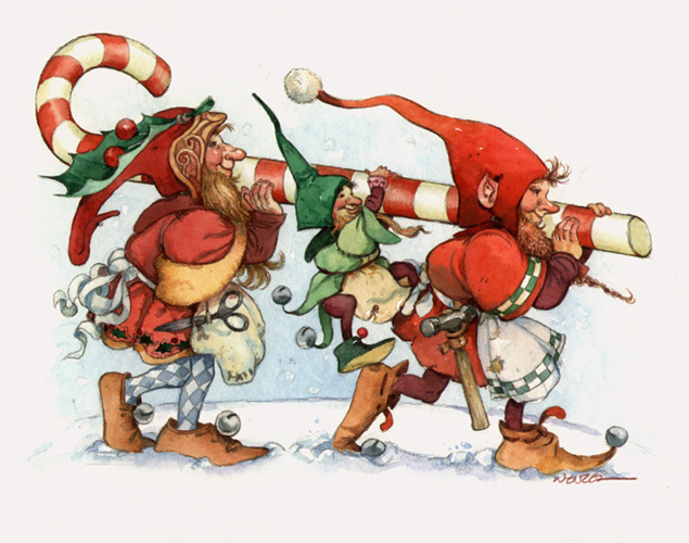 deck the holiday s how santa s elves work