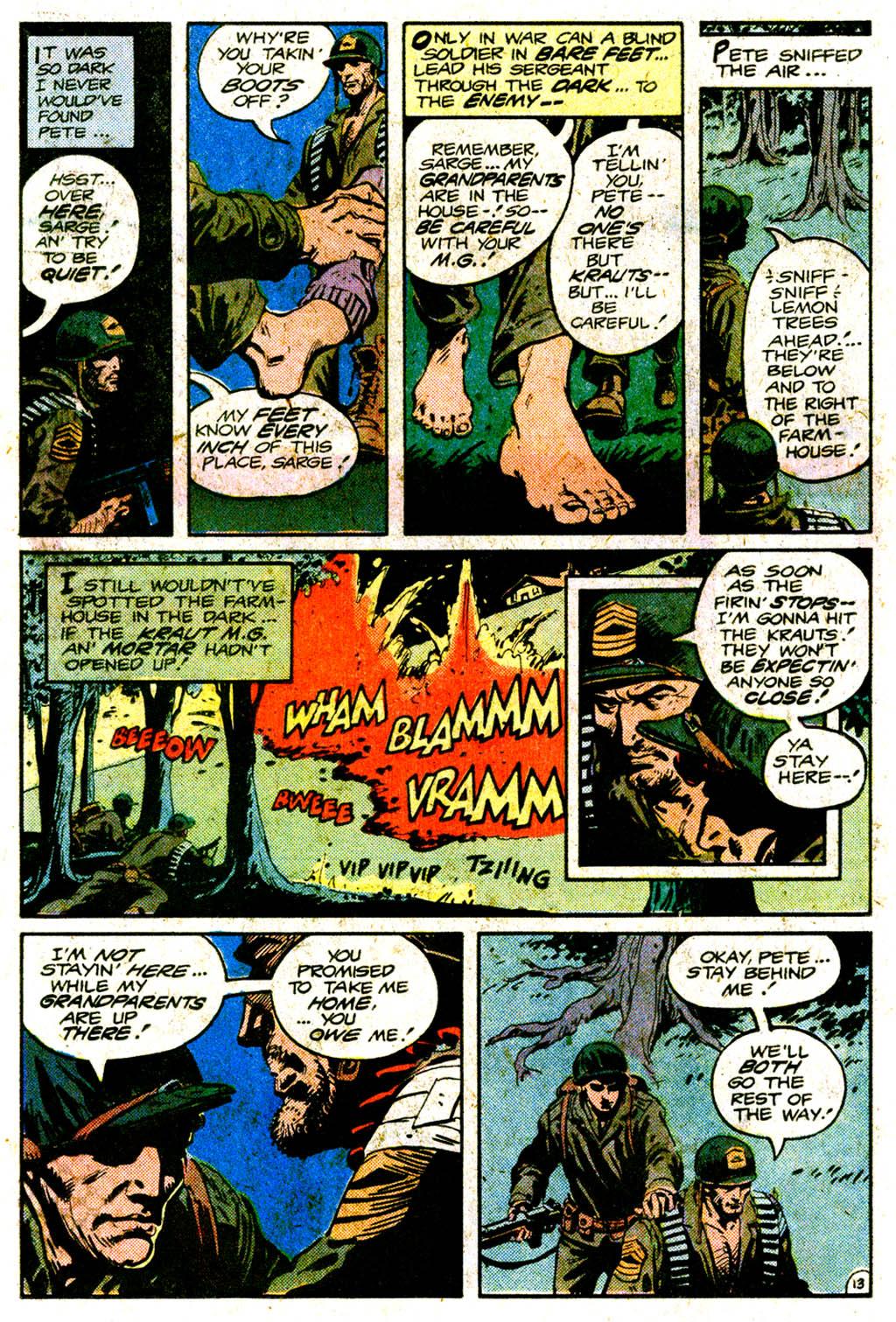 Read online Sgt. Rock comic -  Issue #364 - 17