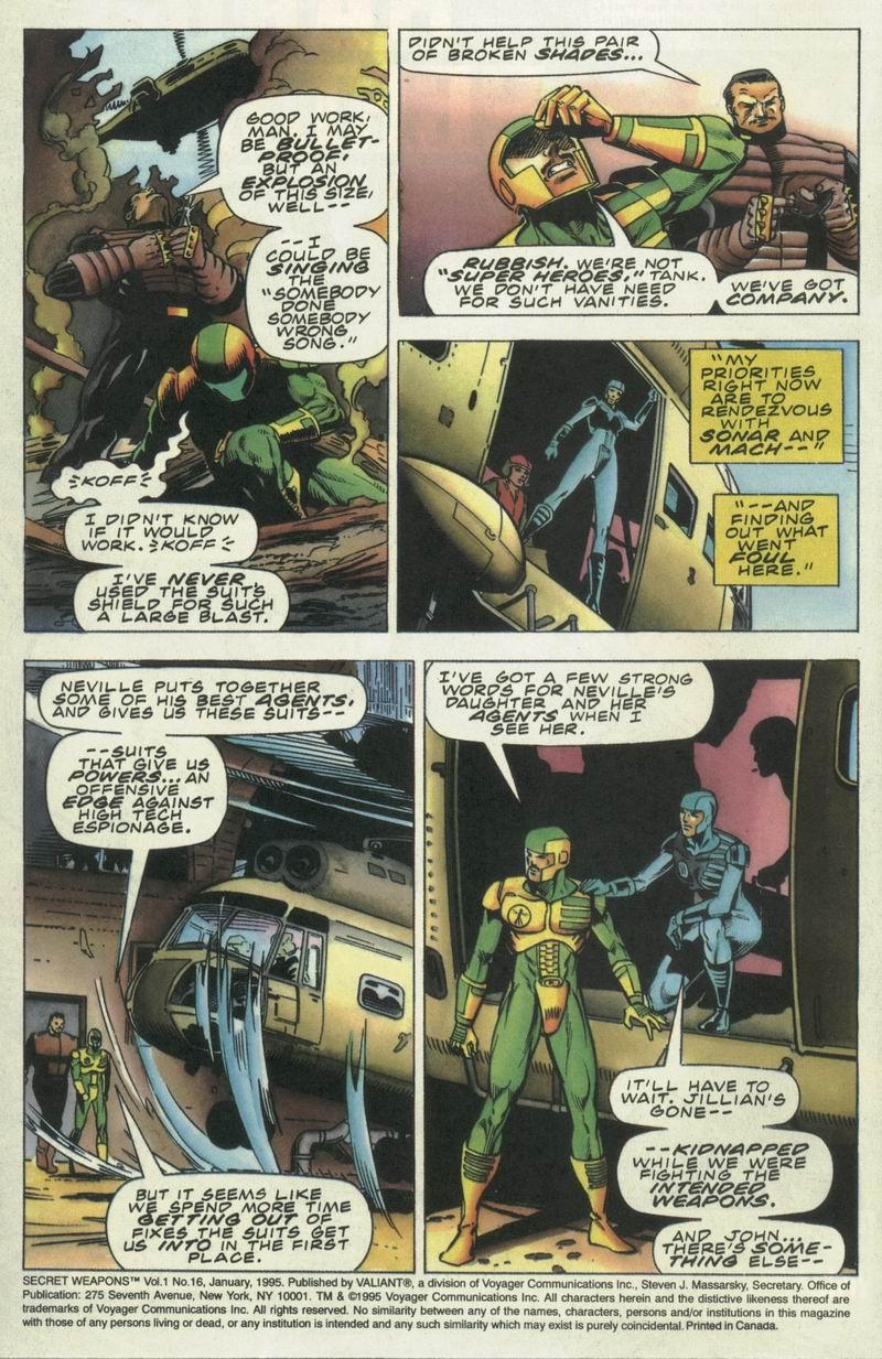 Read online Secret Weapons comic -  Issue #16 - 3