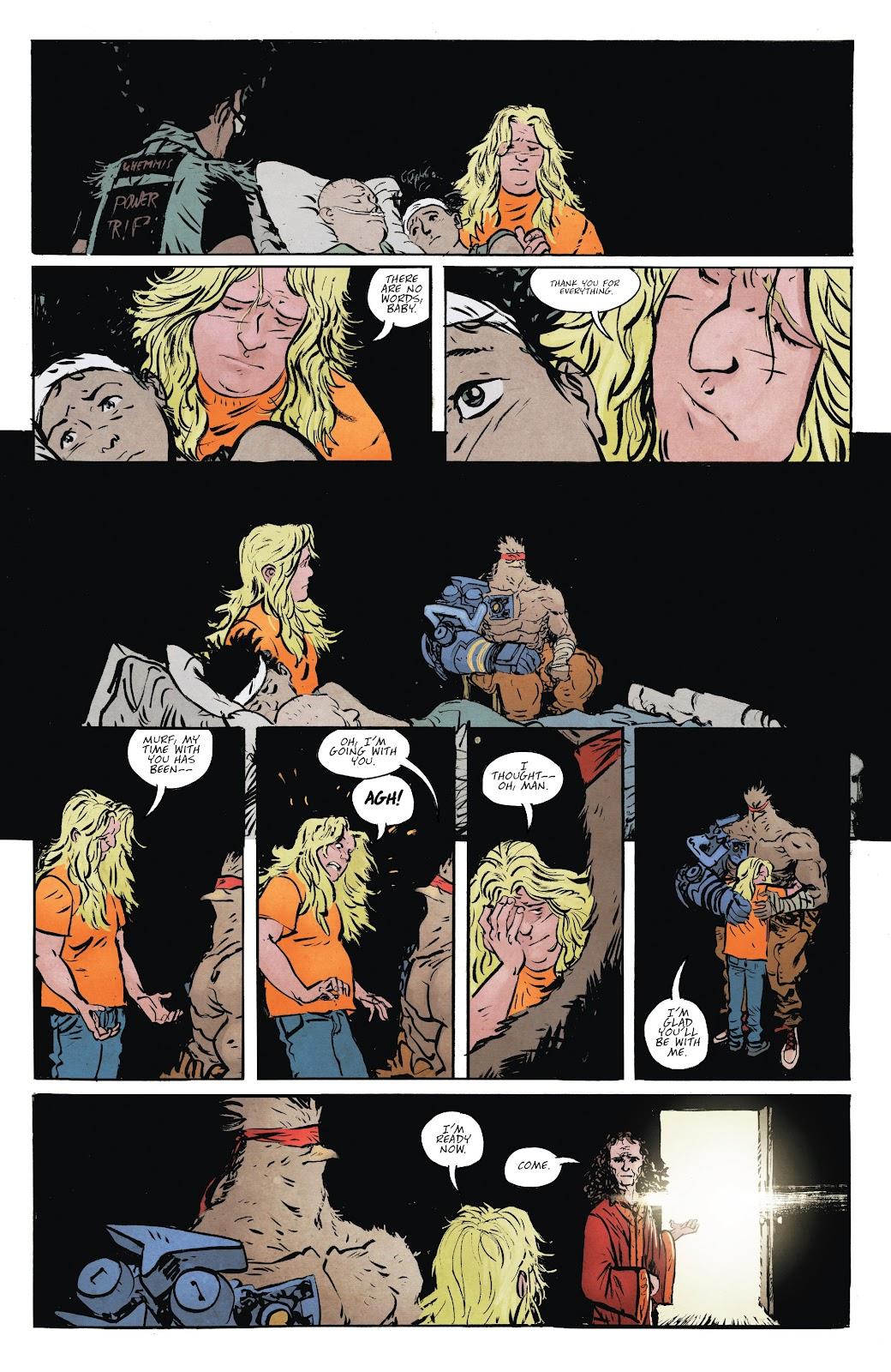 Read online Murder Falcon comic -  Issue #8 - 25