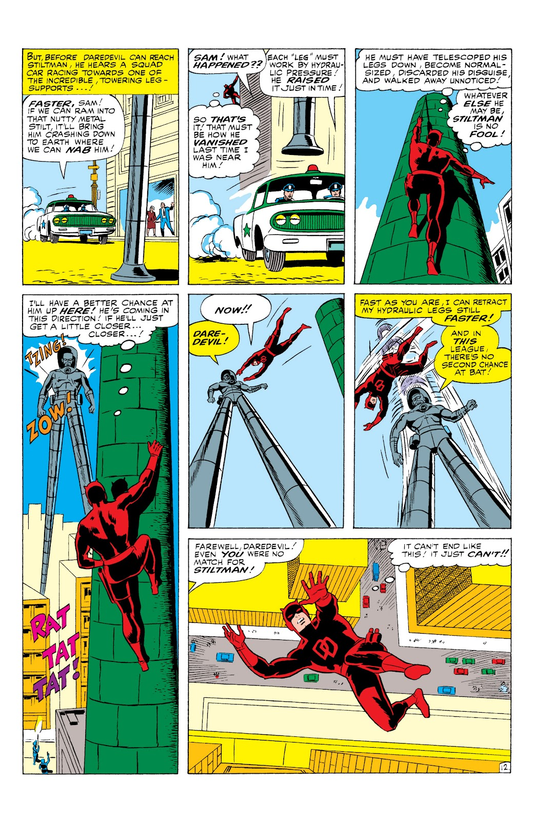 Read online Marvel Masterworks: Daredevil comic - Issue # TPB 1 (Part 2) - 76