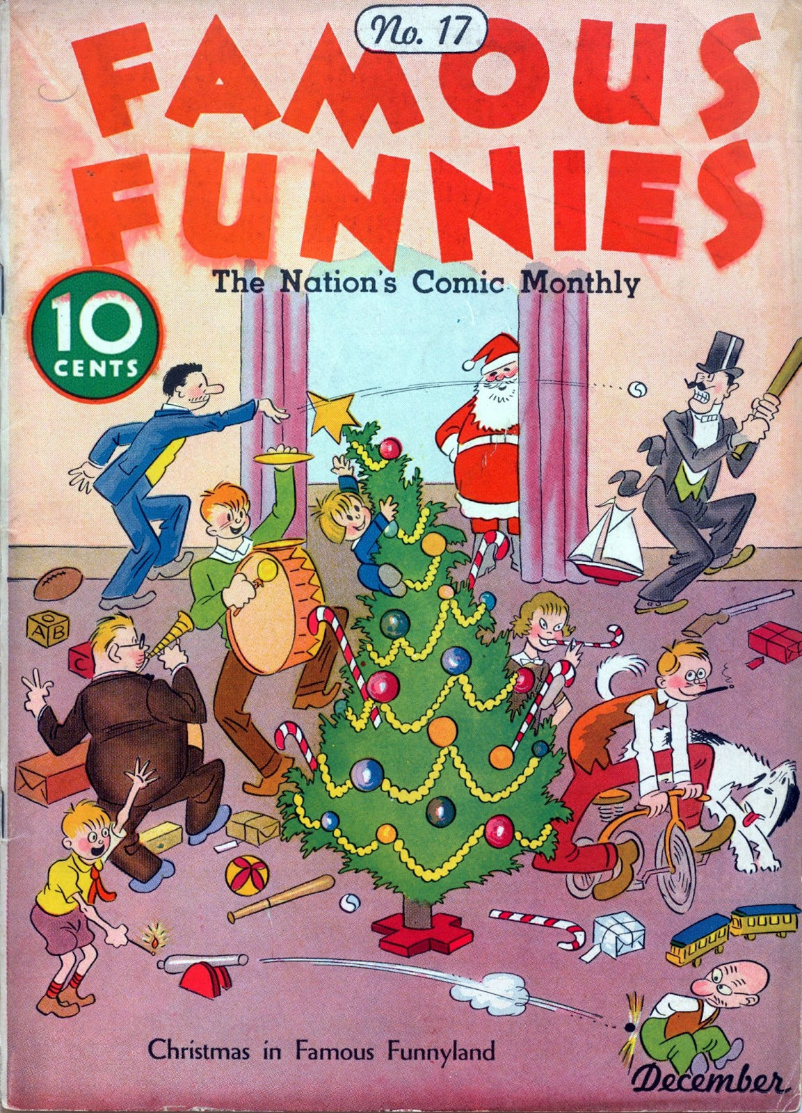 Read online Famous Funnies comic -  Issue #17 - 1