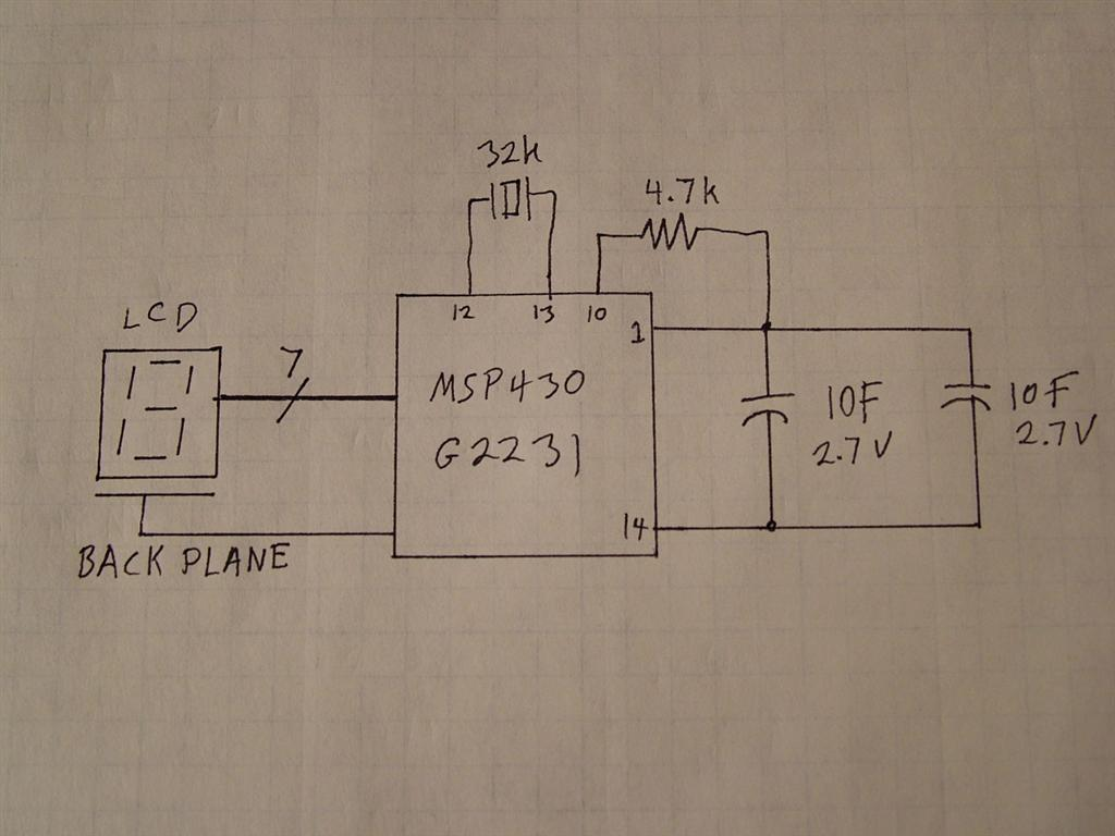 The Life of Kenneth: MSP430 Low Power Experiment