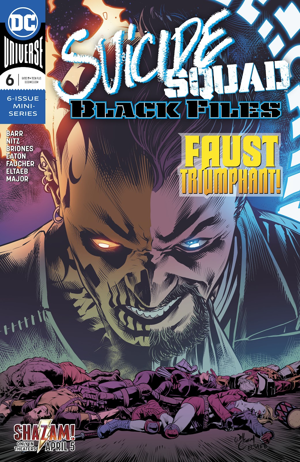 Read online Suicide Squad Black Files comic -  Issue #6 - 1
