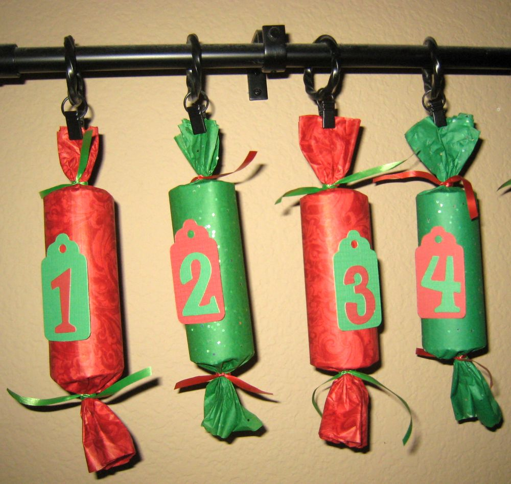 The Diary of a Nouveau Soccer Mom: Recycled Art - Tissue Roll Advent ...