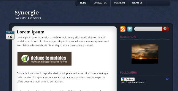 Best Simple Blogger Templates