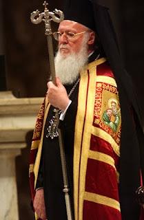 Αποτέλεσμα εικόνας για Οικουμενικός Πατριάρχης Βαρθολομαίος
