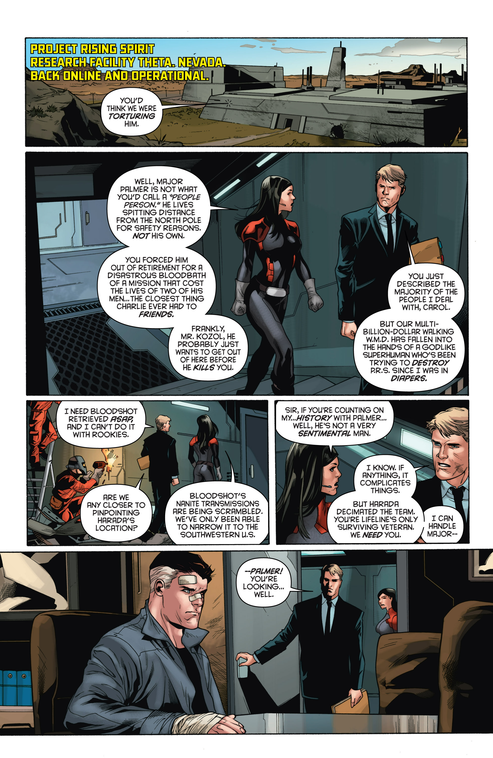 Read online Bloodshot and H.A.R.D.Corps comic -  Issue # TPB 4 - 11