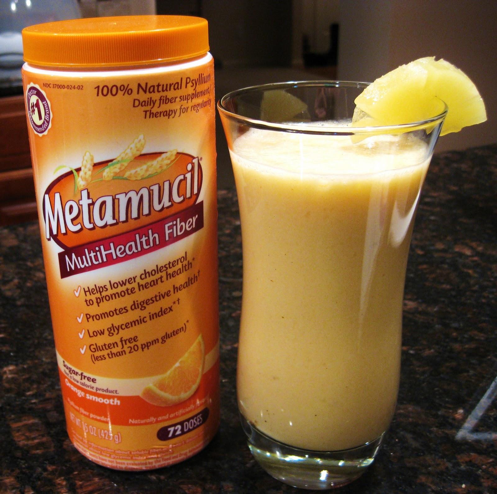 Christines Kitchen Chronicles Metamucil Pineapple Orange Smash