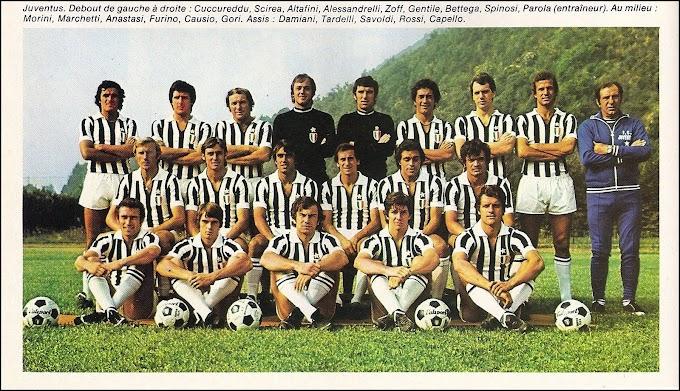 JUVENTUS 1975-76. By Panini.