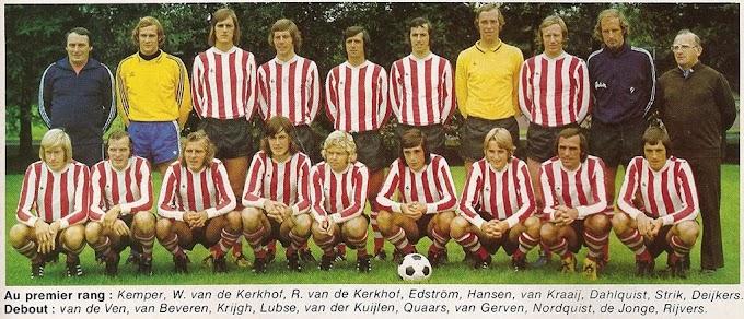 P.S.V EINDHOVEN 1975-76.