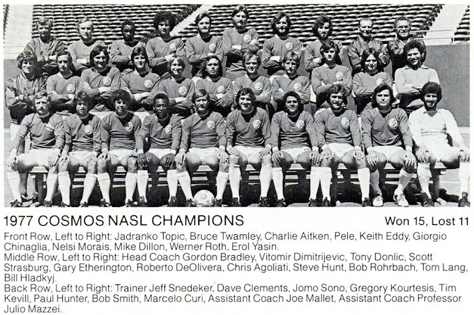 NEW-YORK COSMOS 1977.