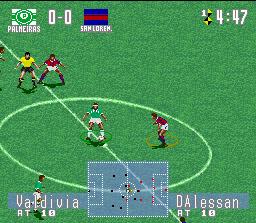 Jogo de futebol brasileiro
