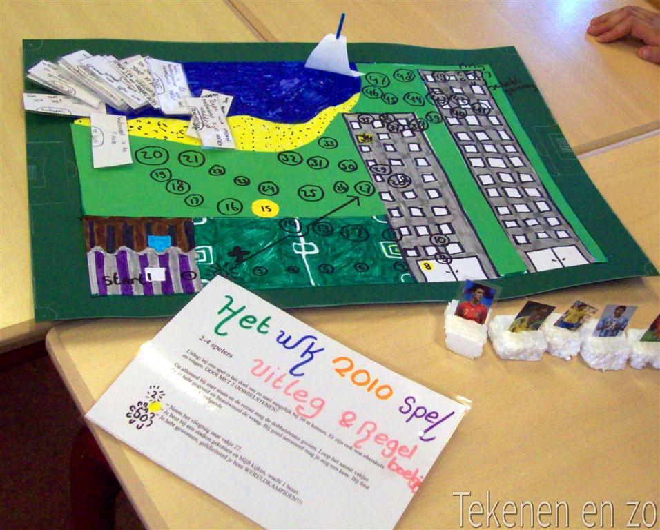 Genoeg Tekenen en zo: Ontwerp je eigen bordspel! &UO14