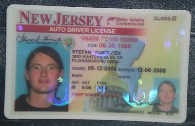 License New Jerseys Jerse Drivers