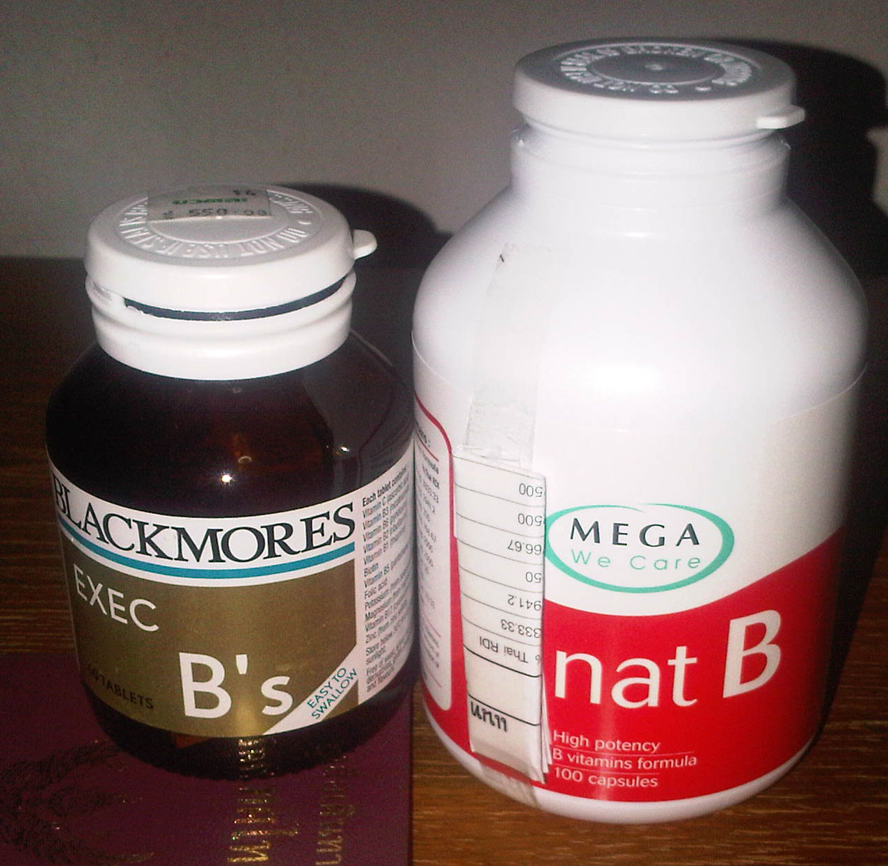 Knowledge Base Vitamin B Complex Blackmore Vs Nat B
