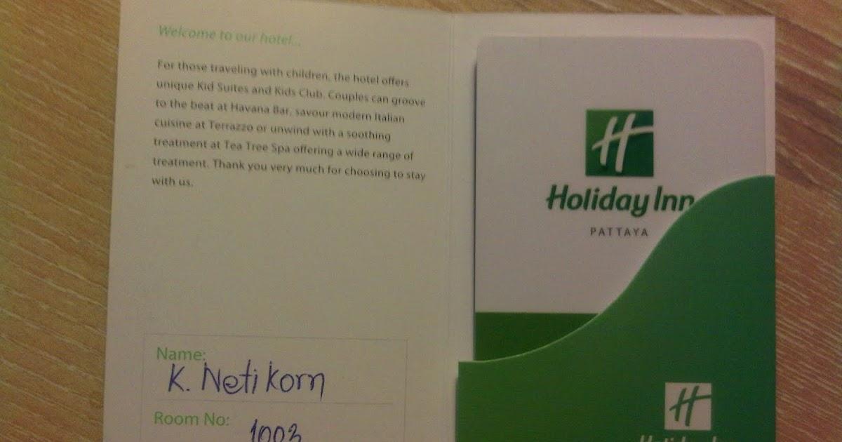Knowledge Base.: Review : Holiday Inn Pattaya Hotel