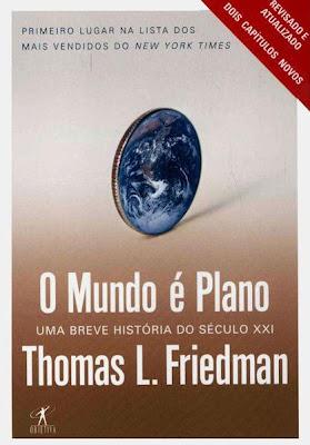 capa do livro o mundo é plano