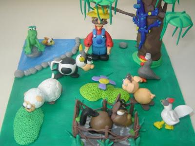 Charles cartoons la granja for Como hacer una granja de peces