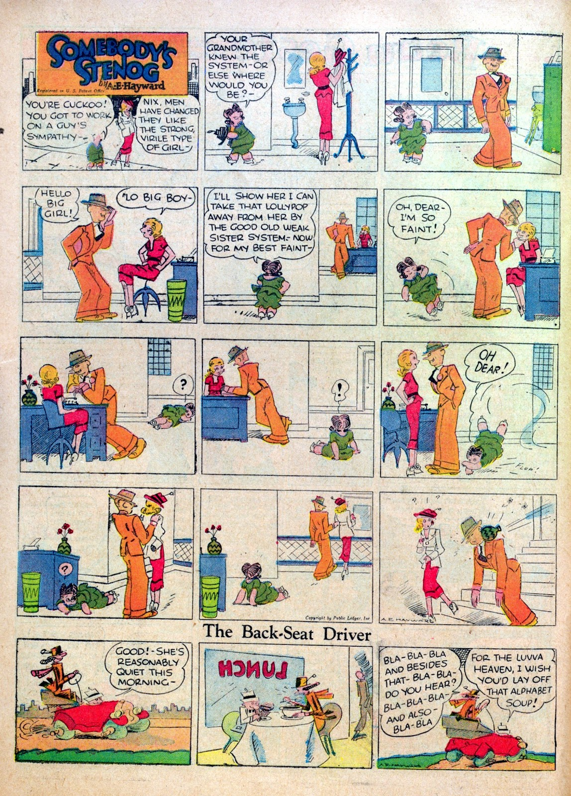 Read online Famous Funnies comic -  Issue #30 - 48