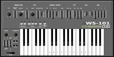 MATRIXSYNTH: WS-101 Online Virtual Synth