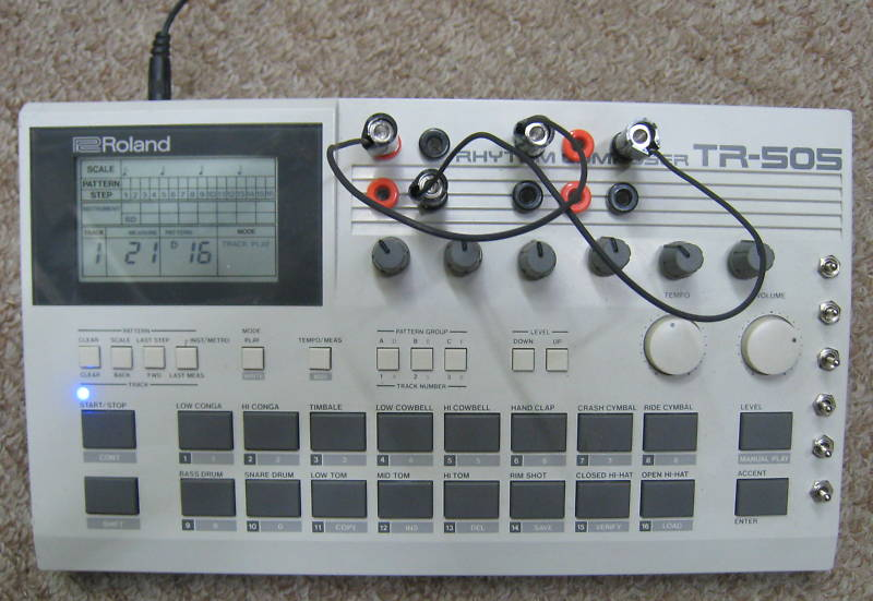 matrixsynth circuit bent roland tr 505 drum machine. Black Bedroom Furniture Sets. Home Design Ideas