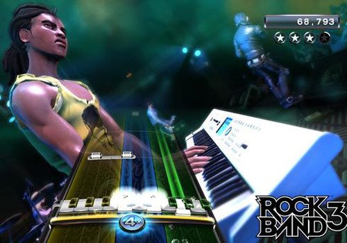 MATRIXSYNTH: Korg M50 in Rock Band 3 - Pic of Keyboard