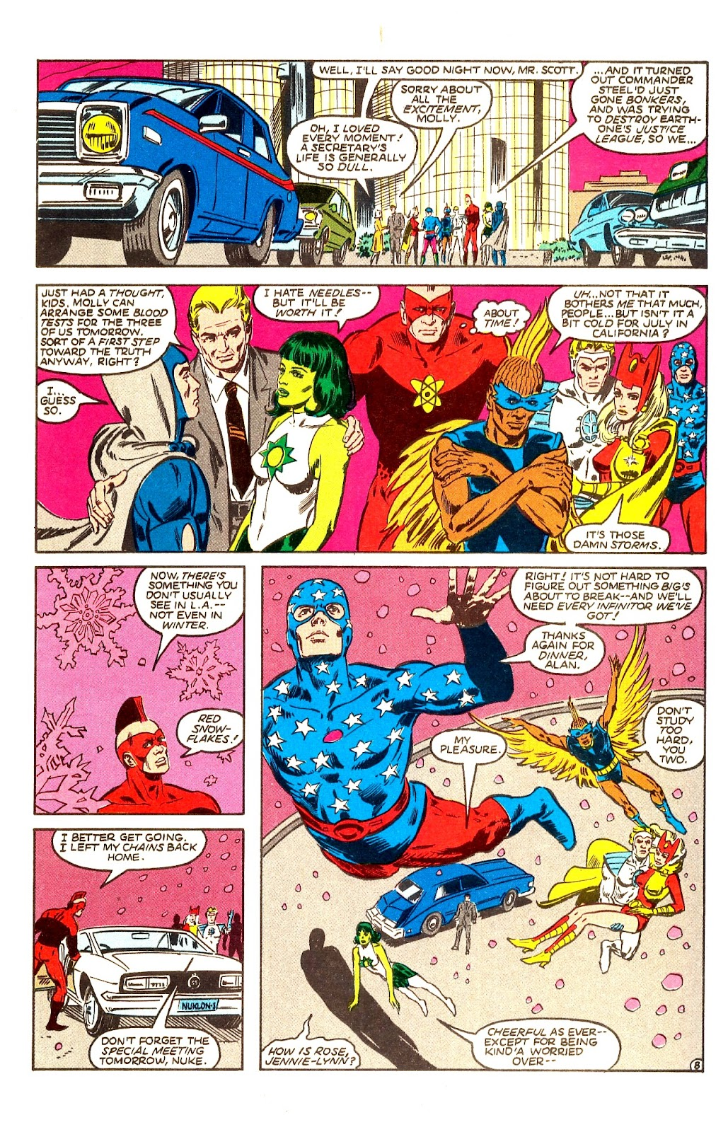 Infinity Inc. (1984) issue Annual 1 - Page 10
