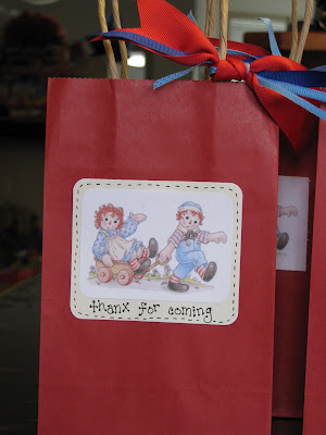 Making Merry Memories Raggedy Ann Party