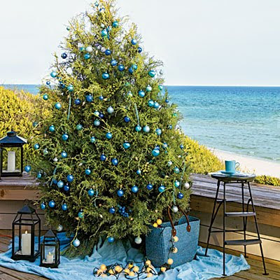Sweeter Homes Decorating A Beach House For Christmas