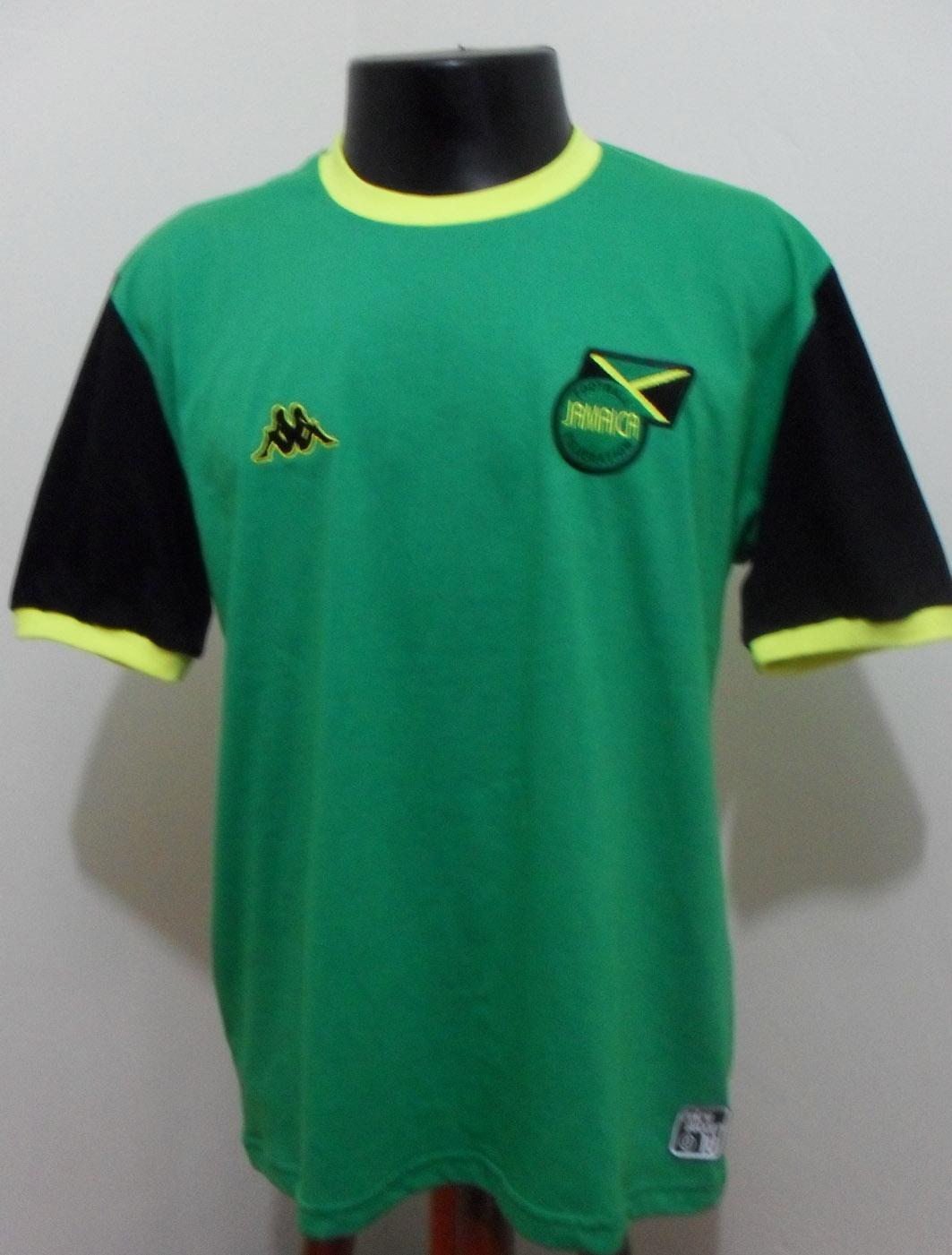 7766977fea Camisas de futebol retro  Camisa Seleção Jamaica