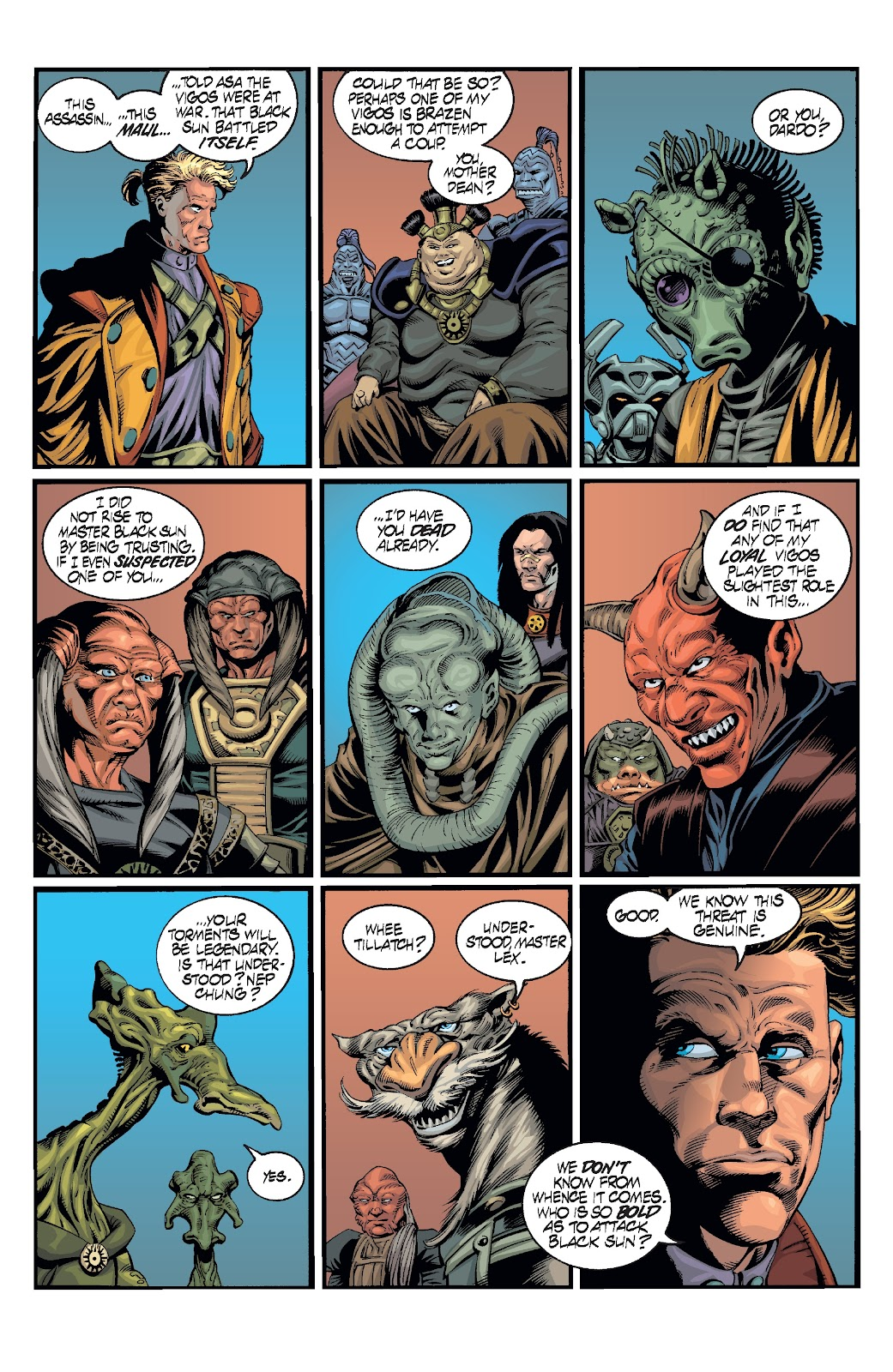 Read online Star Wars Legends: Rise of the Sith - Epic Collection comic -  Issue # TPB 2 (Part 2) - 92