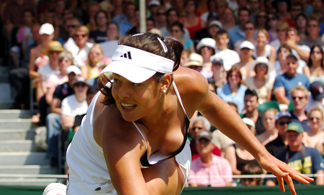 Ana ivanovic sexy moments 5