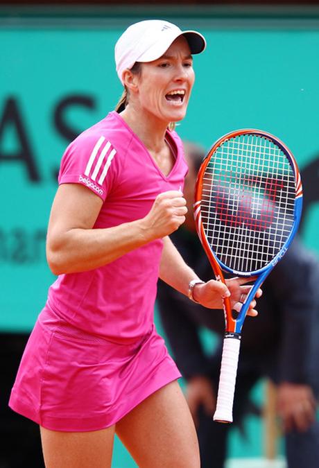 Justine Henin Tennis Player